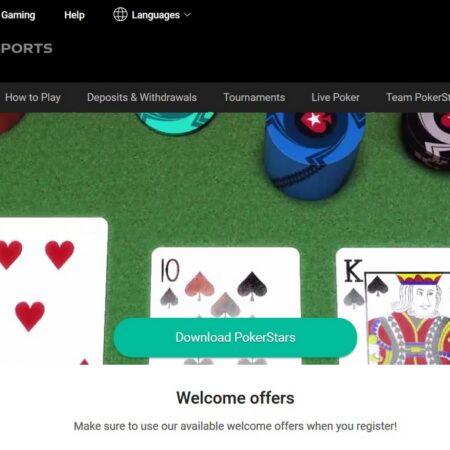 Spill poker på nett med PokerStars